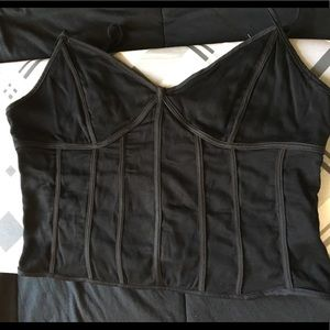 Structured Tank Top Corsette